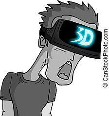 visione, 3d