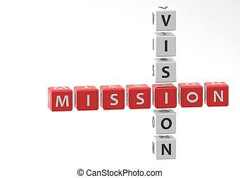 visione, missione