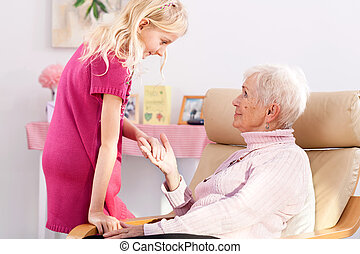 Visit at grandma's
