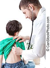 Visit at the pediatritian's