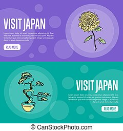 Visit Japan Travel Company Landing Page Template