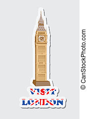Visit London Sticker