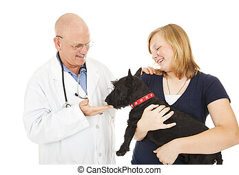 Visit to the Veterinarian
