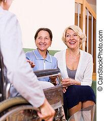 visit wheelchair