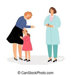 visita, pediatra