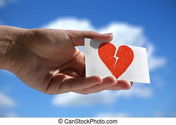 symbol of broken heart