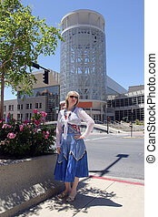 Visiting Salt Lake city, Utah.