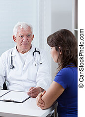 Visiting the physician