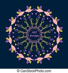 visje, cirkel, creatief