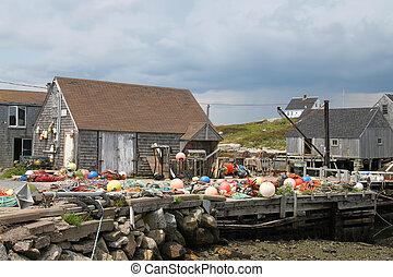 visserij, cove van peggy