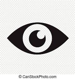 vista, ícone