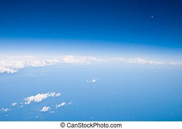 vista aérea, de, tierra