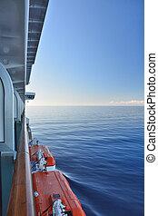 vista, de, el, balcón, de, el, vaya barco