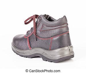 vista frontale, di, boots.