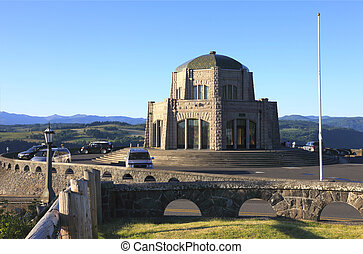 Vista House, Portland OR. - Vista House a historic landmark,...