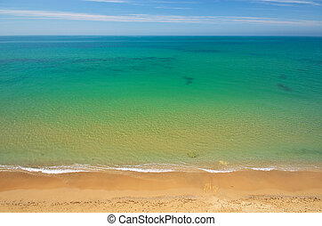 Vista marina, composición, naturaleza