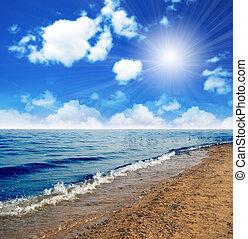 vista marina, hermoso
