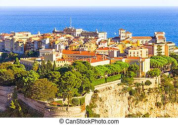 vista, Palácio,  Monaco