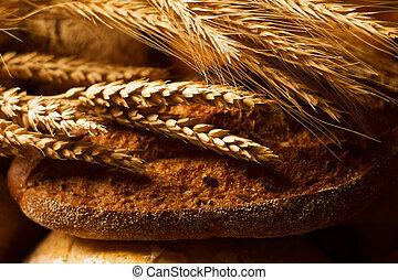 vista primo piano, bread
