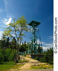 vista, torre, slovanka