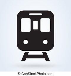 vista., transporte, illustration., transporte, símbolo.,...