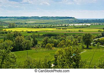 vistula, vallée rivière