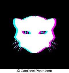 visual effect feline