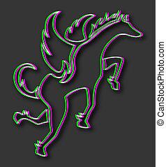 visual effect pegasus symbol