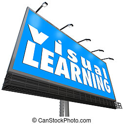 Visual Learning Billboard Sign Watching Seeing Demonstration...