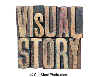 visual story isolated