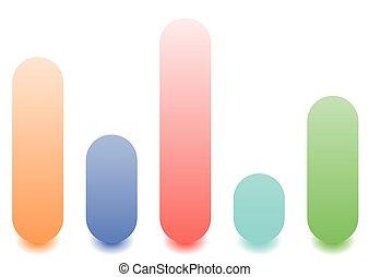 visualizzazione, barre, casuale, grafico, /, analisi, livelli, concetti