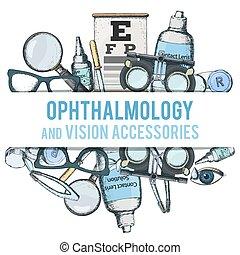 visuel, optique, acuité