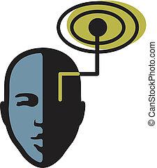 visuell, signal, illustration