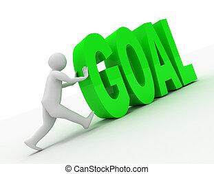 """Viszonoz, emberek,  """"goal"""", Szöveg,  -, Ábra, személy, ember, 3"""