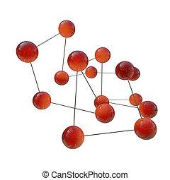 viszonoz, -, molekulák, ábra, 3