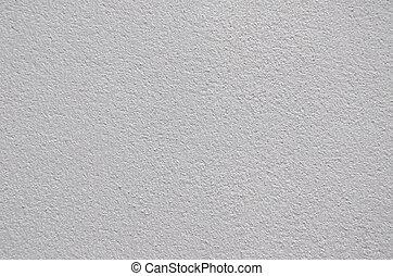 vit, cement, plåster vägg