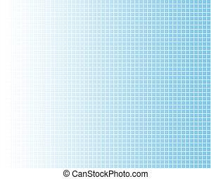 vit, galler, på, blå