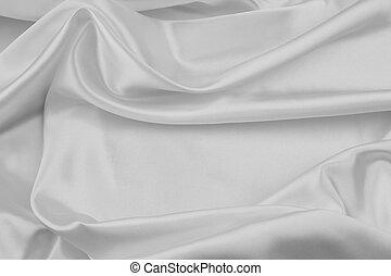 vit, silke