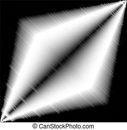 vit, svart, bakgrund