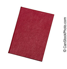 vit, täcka, röd fond