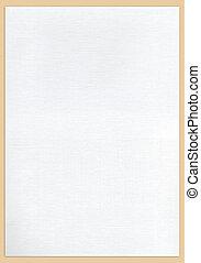 vit, tyg, vävnad, struktur, till, bakgrund