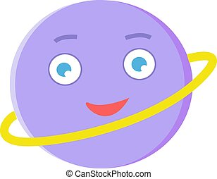 vit, vektor, purpur, boll, illustration, bakgrund.