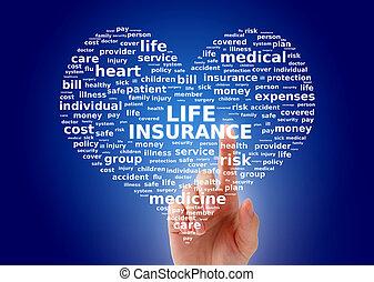 vita, concetto, assicurazione