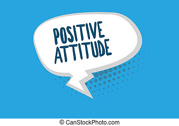 vita, concetto, parola, affari, essendo, cose, scrittura, dall'aspetto, buono, ottimistico, testo, attitude., positivo