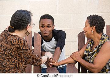 vita, család