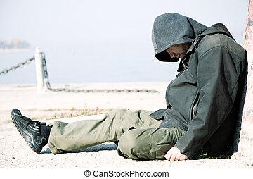 vita, senzatetto