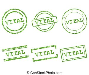 vital, timbres