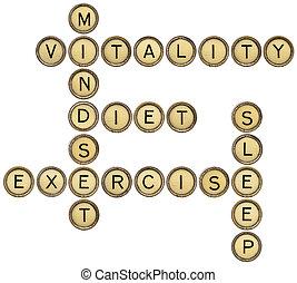 vitality crossword