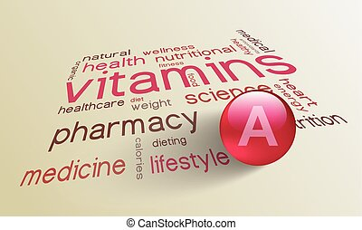 Vitamin A element for a healthy life