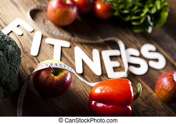 Vitamin and Fitness diet